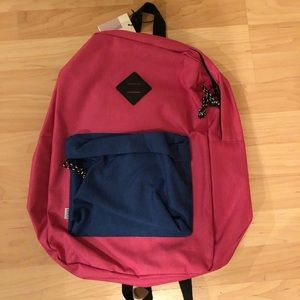 Yoder Pink and Blue Backpack